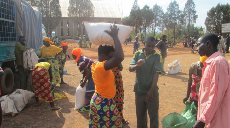 HELP CHANNEL BURUNDI ORGANISE A SEED FAIR IN MAKAMBA